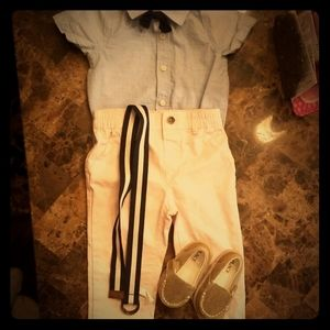 Boys outfit with shoes